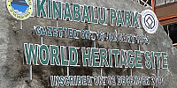 Kinabalu World Heritage Sign 200x100